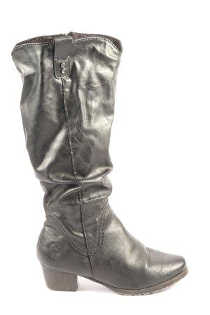 Marco Tozzi High Heel Stiefel schwarz Casual-Look