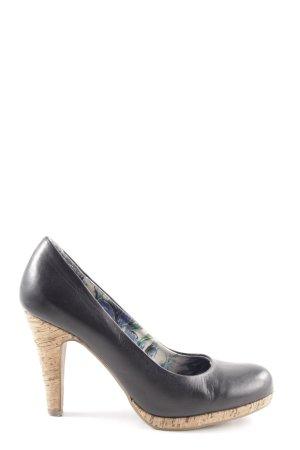 Marco Tozzi High Heels schwarz Business-Look