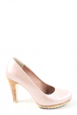 Marco Tozzi High Heels creme Casual-Look