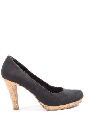 Marco Tozzi High Heels schwarz-creme Elegant