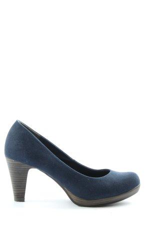Marco Tozzi High Heels blau Casual-Look