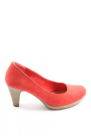 Marco Tozzi High Heels rot Casual-Look