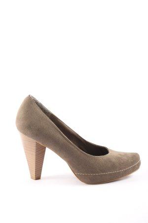 Marco Tozzi High Heels braun Business-Look