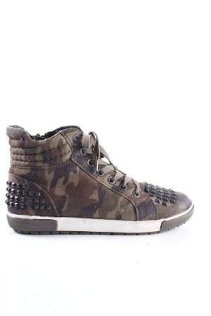 Marco Tozzi High Top Sneaker Camouflagemuster Casual-Look