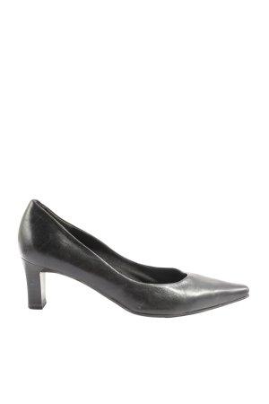 Marco Tozzi Chaussure à talons carrés noir style d'affaires