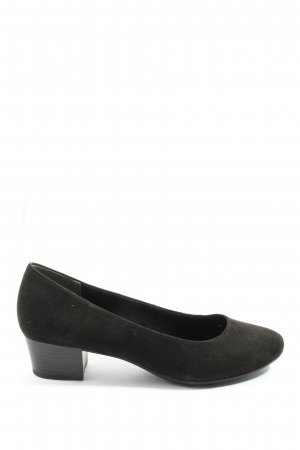 Marco Tozzi Hochfront-Pumps braun Casual-Look