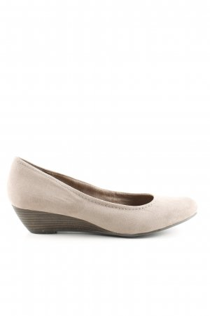 Marco Tozzi Keil-Pumps creme Business-Look