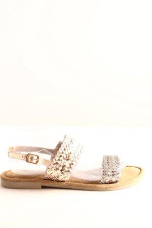 Marco Tozzi Comfortabele sandalen zilver casual uitstraling
