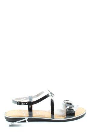 Marco Tozzi Sandalias cómodas negro look casual