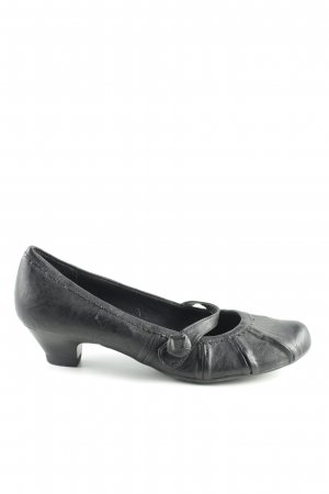 Marco Tozzi Mary Jane Ballerinas black casual look