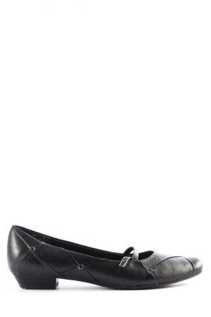 Marco Tozzi Zapatos Mary Jane negro look casual