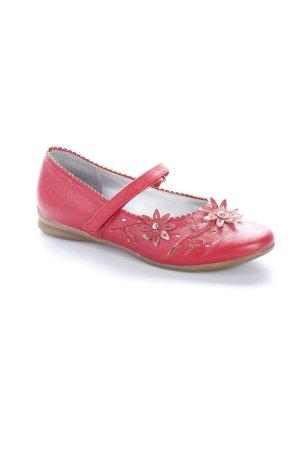 Marco Tozzi Zapatos Mary Jane rojo estampado floral Elementos de espuma