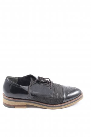 Marco Tozzi Oxfords black business style
