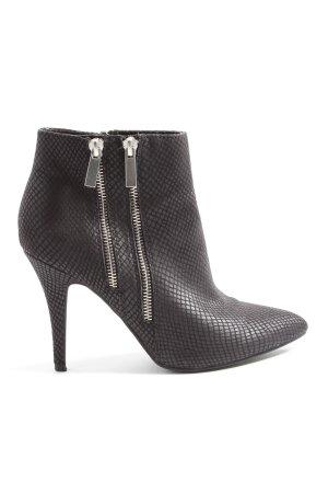 Marco Tozzi Reißverschluss-Stiefeletten schwarz Elegant
