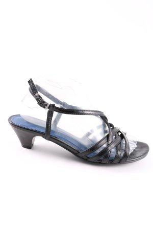 Marco Tozzi Riemchen-Sandaletten schwarz Elegant