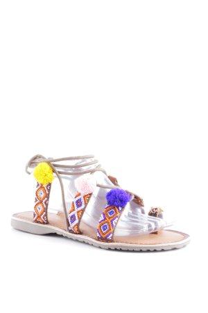 Marco Tozzi Roman Sandals multicolored bobble element