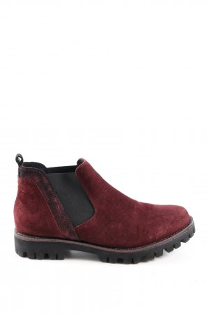 Marco Tozzi Slip-on Booties red casual look