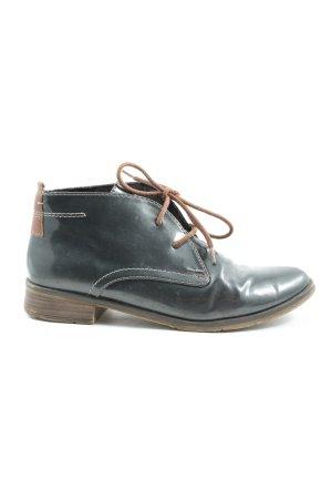 Marco Tozzi Sznurowane buty niebieski W stylu casual