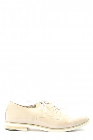 Marco Tozzi Lace Shoes cream casual look
