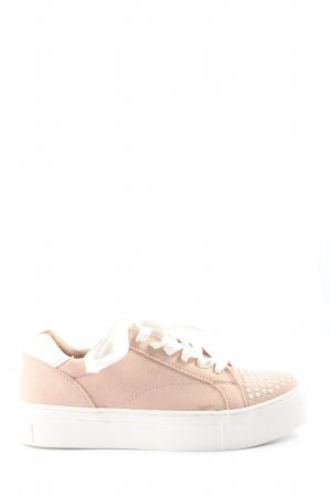 Marco Tozzi Schnürsneaker creme Casual-Look