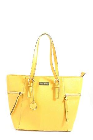 Marco Tozzi Torba shopper bladożółty W stylu casual