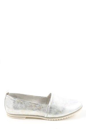 Marco Tozzi Zapatos formales sin cordones gris claro look casual