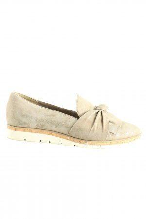 Marco Tozzi Slipper wollweiß-nude Casual-Look
