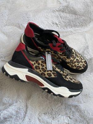 Marco Tozzi Sneakers met veters veelkleurig