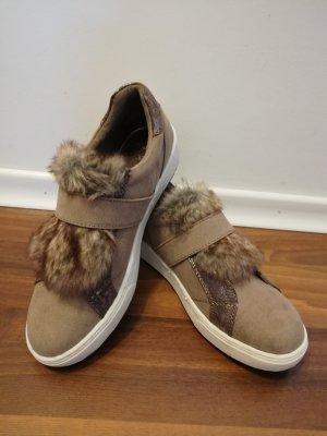 Marco Tozzi Velcro Sneakers light brown