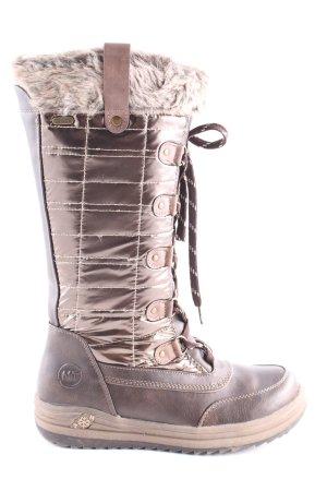 Marco Tozzi Snow Boots brown-cream