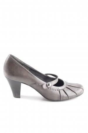 Marco Tozzi Backless Pumps light grey casual look