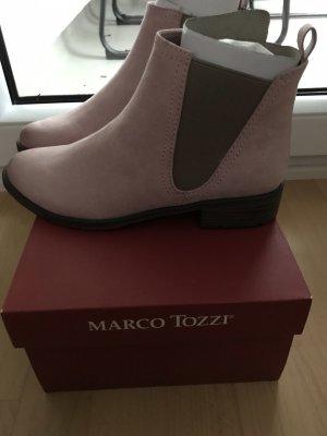 Marco Tozzi Bottines à enfiler or rose