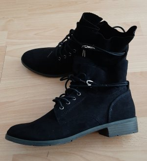 Marco Tozzi Stiefeletten Stiefel Boots Winterstiefel Schnürboots Schuhe