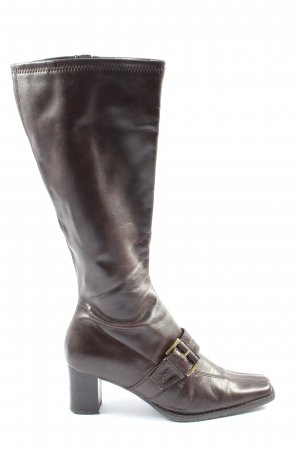 Marco Tozzi Wide Calf Boots brown casual look