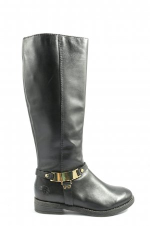 Marco Tozzi Wide Calf Boots black casual look