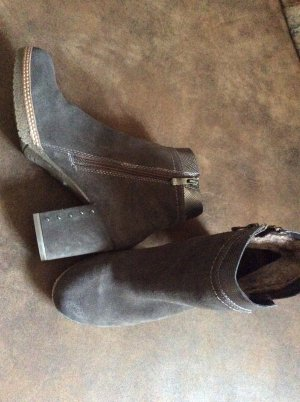 Marco Tozzi Winter Booties taupe-silver-colored