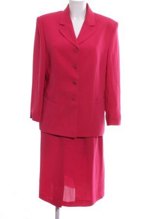 Marcona Kostüm rot Business-Look