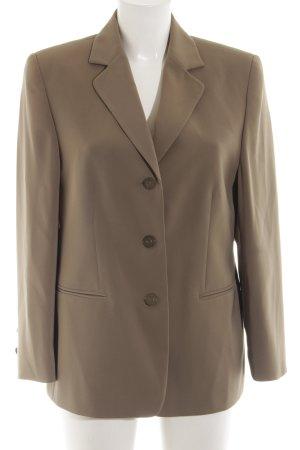 Marcona Long-Blazer braun Business-Look