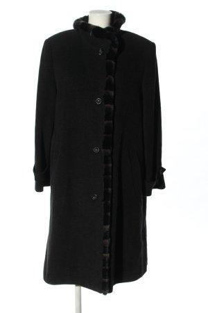 Marcona Wool Coat black casual look