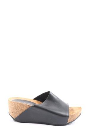 Mare di Capri Platform High-Heeled Sandal black casual look