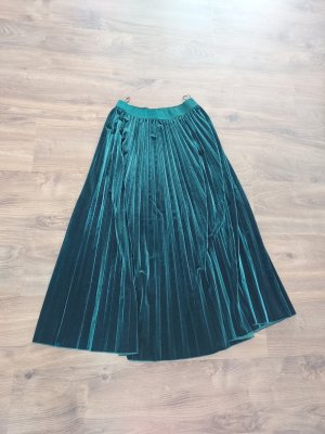 Marella Pleated Skirt forest green
