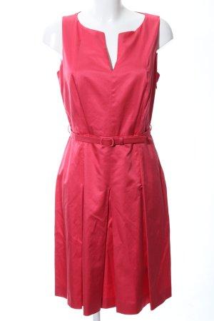 Marella A-Linien Kleid rot Casual-Look