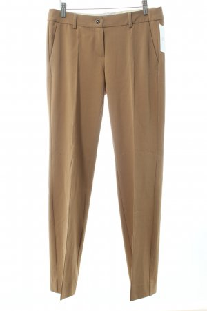 Marella Bundfaltenhose camel Business-Look