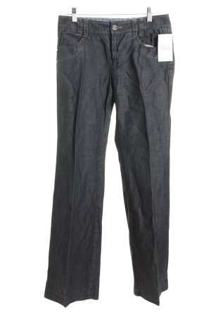 Marella Hose dunkelgrau Jeans-Optik