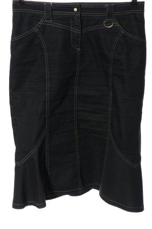 Marella Denim Skirt black casual look