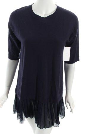 Marella Minikleid dunkelblau extravaganter Stil