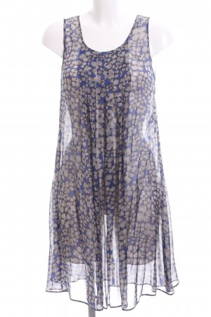 Marella schulterfreies Kleid abstraktes Muster Casual-Look