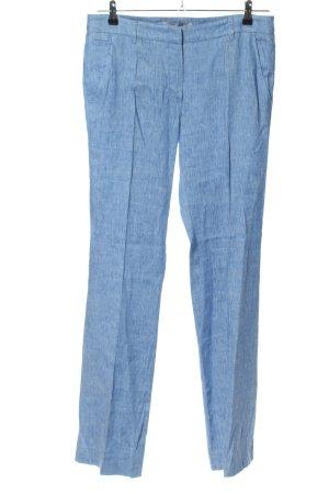 Marella Stoffhose blau meliert Casual-Look