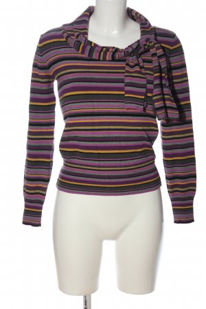 Marella Knitted Sweater allover print casual look