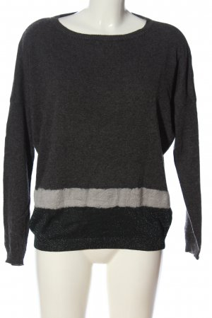 Marella Knitted Sweater black-natural white casual look